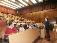 Az utolsó tavaszi nyitott előadás a Savaria Egyetemen