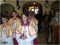 2012.04.08. - Boldog II. János Pál pápa szobrának szentelése (Kondorfa)