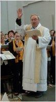 2012.10.21. - Dr. Pem László atya ad orgonakoncertet a Szent Márton-templomban (Szombathely)
