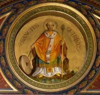 Papi Szeminárium kápolna - Szent Kvirin