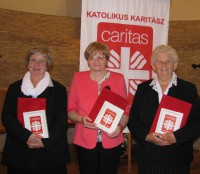 The staff of our Diocese honoured with an Award