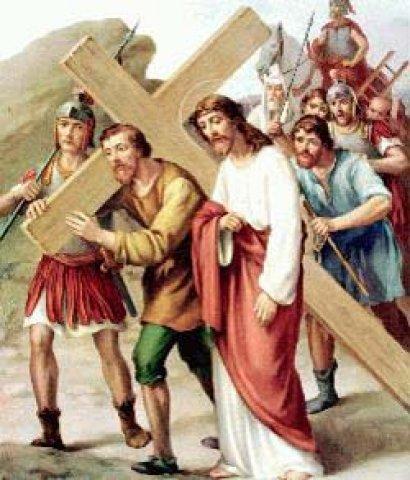 """Képtalálat a következőre: """"keresztet hordozó jézus"""""""