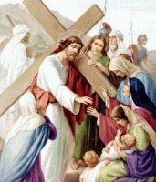 VIII. állomás: Jézus vigasztalja a siránkozó asszonyokat